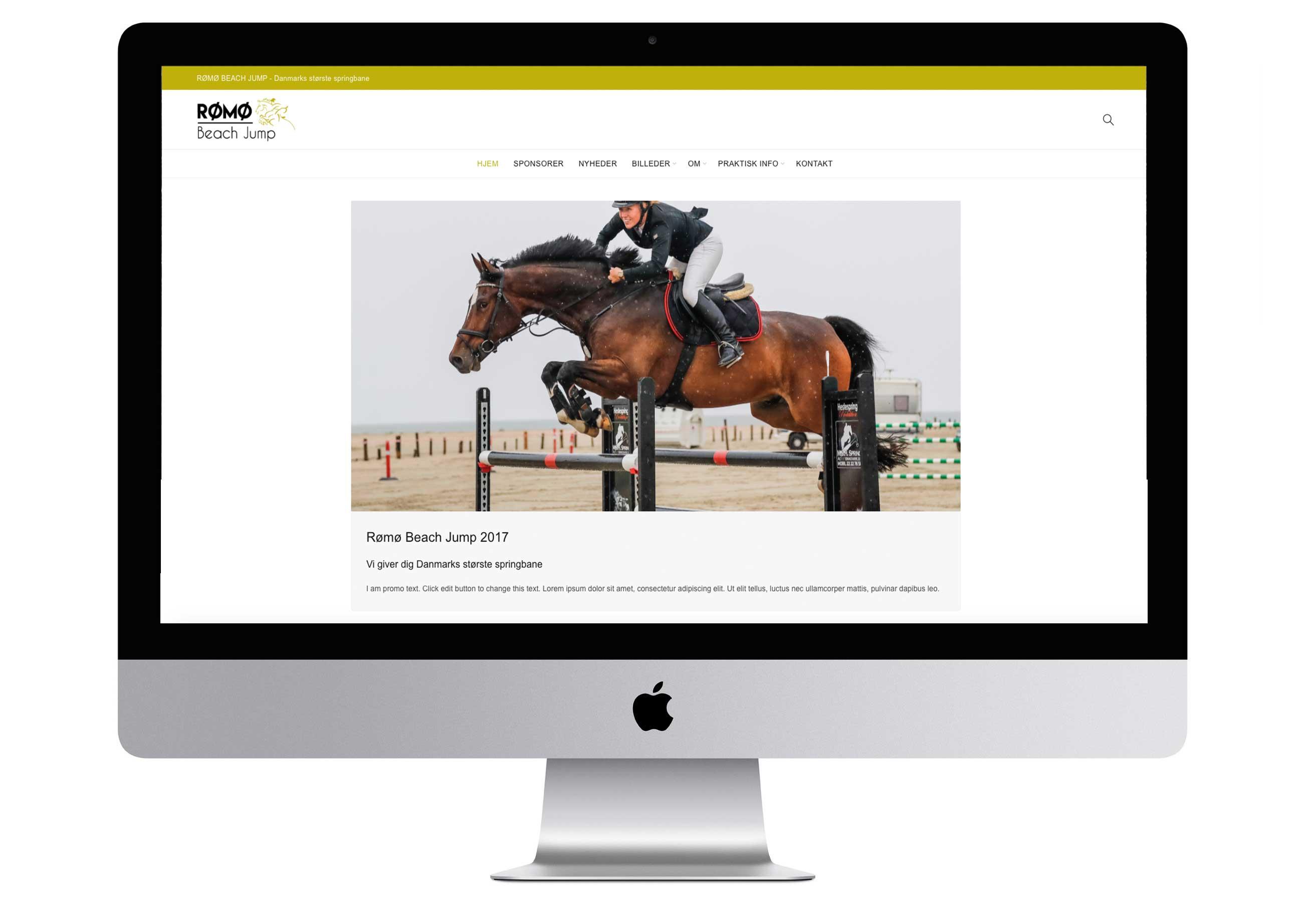 Vi har fået ny hjemmeside